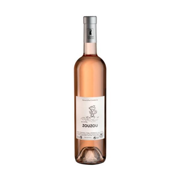 Vin rosé fruité et frais